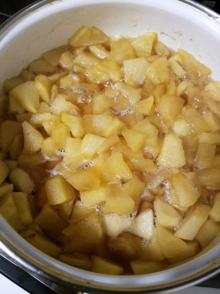ジャム レシピ りんご